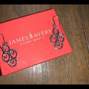 James Avery RETIRED hook earrings